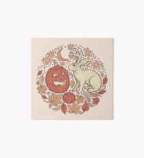 Halloween Freunde | Herbst-Palette Galeriedruck