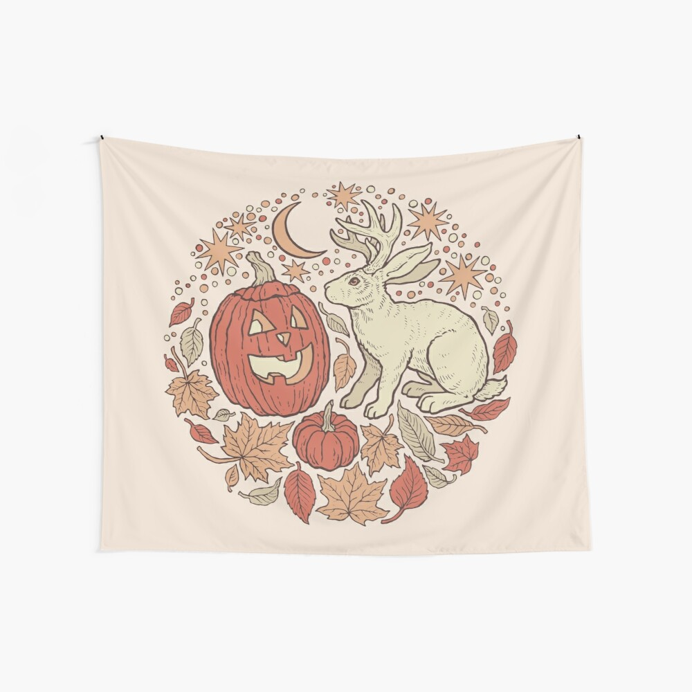 Halloween Friends | Autumn Palette Wall Tapestry