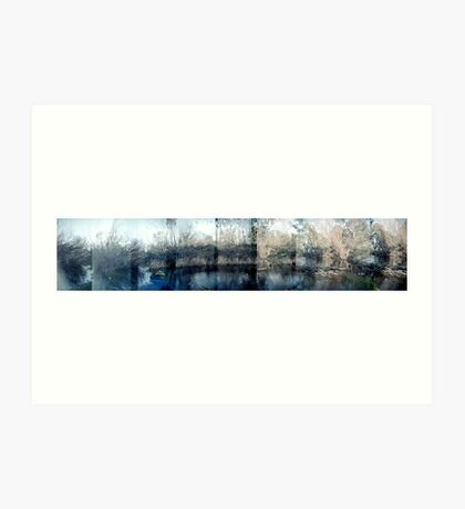 Loddon River Panoramic Art Print