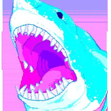 Vaporwave Shark von SEryST