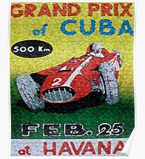 CUBAN CIGAR LABELS Poster
