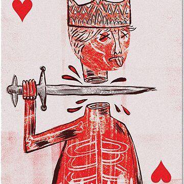 basquiat - naipe rey de electricgal