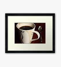 chip & spoon Framed Print