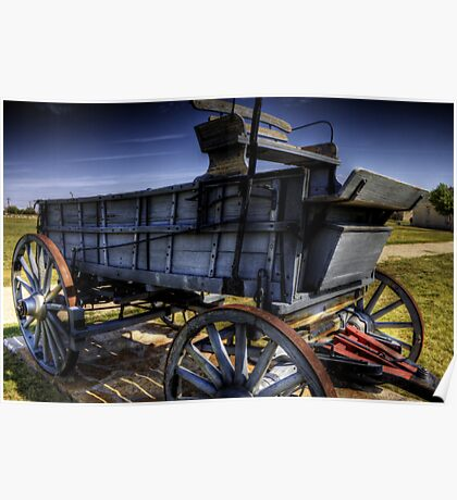 Freight Wagon Poster