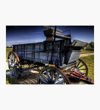 Freight Wagon Photographic Print