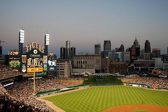 Comerica Park / The New Tiger's Stadium / Baseball in Detroit by utzuki