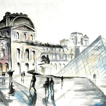 The Louvre by kamekern