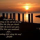Happiness is... by Sandy Woolard