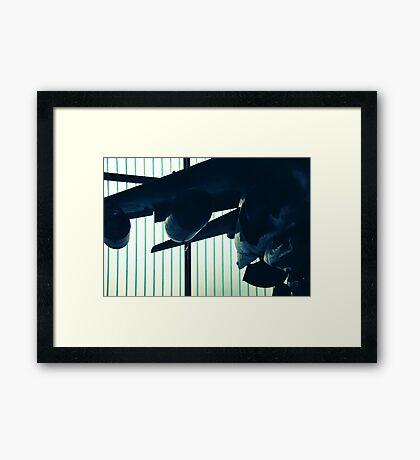 something Framed Print