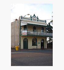 Menzies Hotel Photographic Print