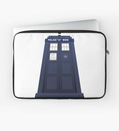 Police Box Laptop Sleeve