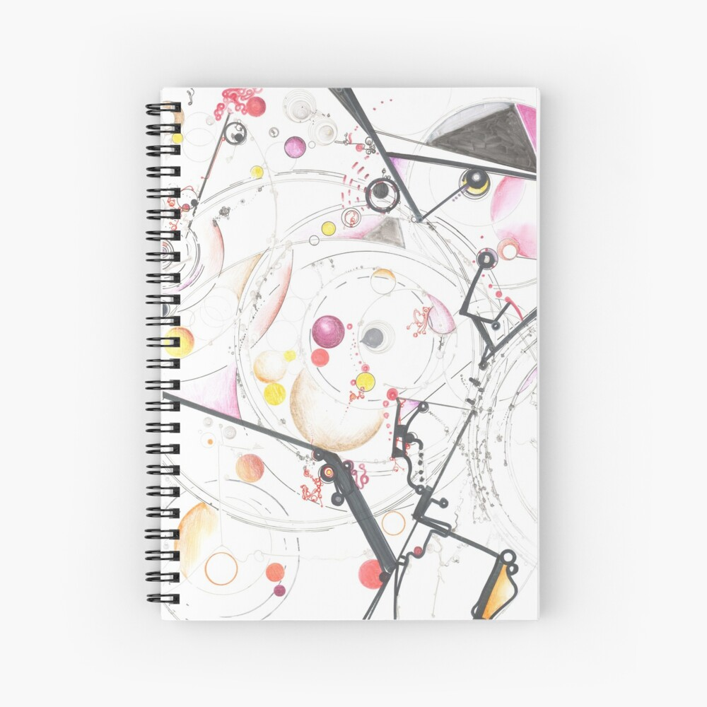 Action at a Distance Spiral Notebook