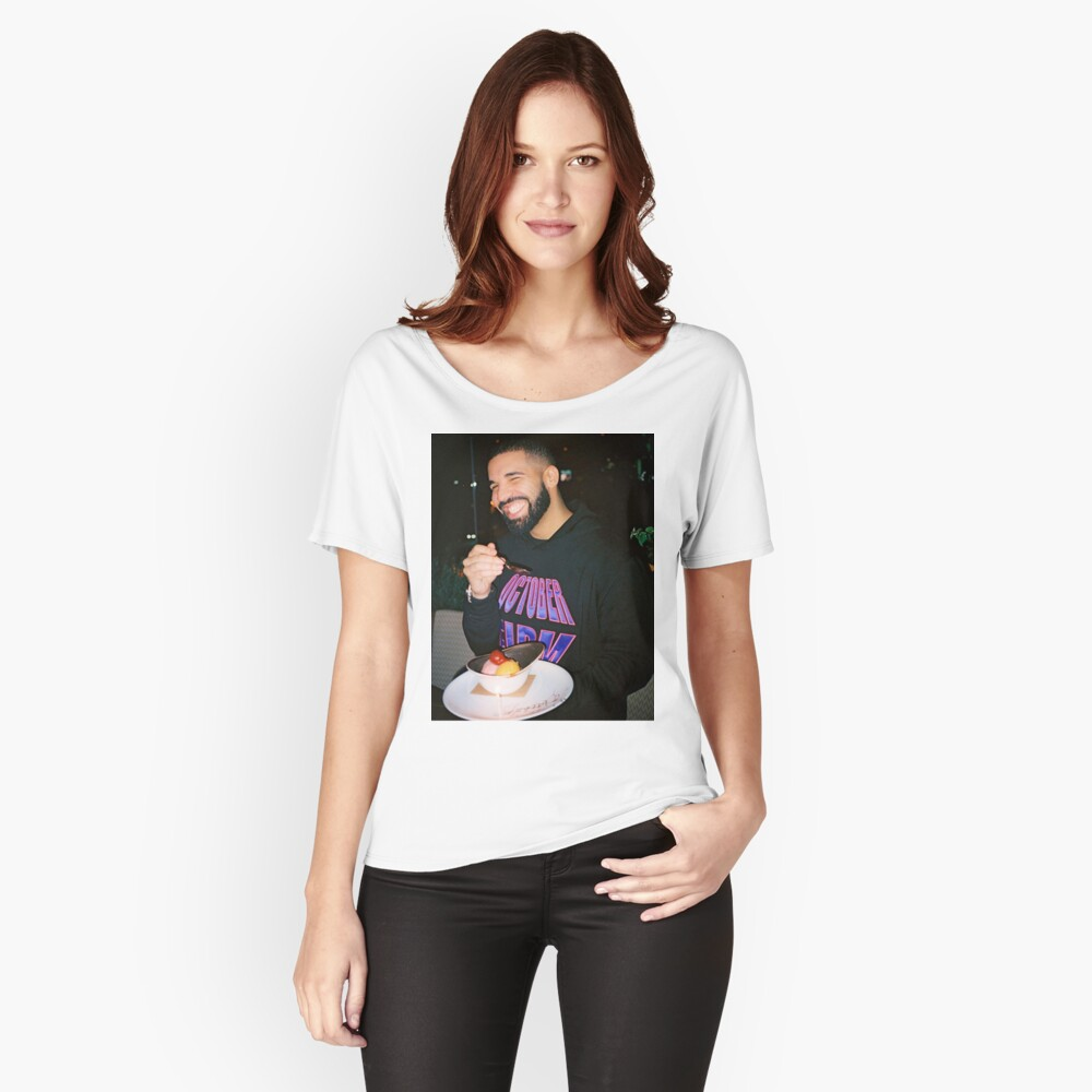 Drake being Drake Women's Relaxed Fit T-Shirt Front