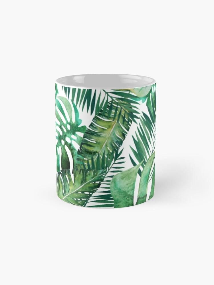 Alternative Ansicht von Monstera Bananen Palmblatt Tasse