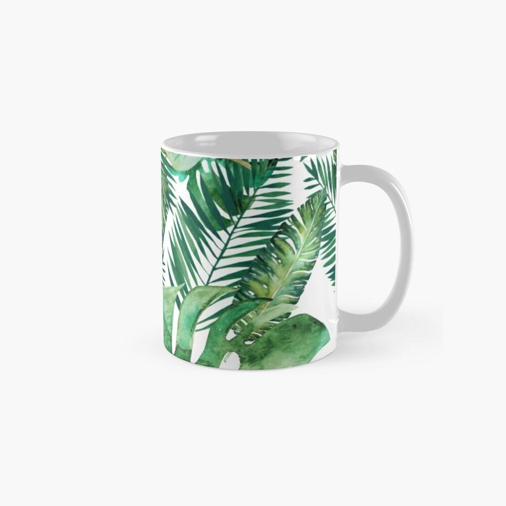 Monstera Bananen Palmblatt Tasse