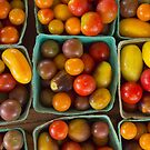 Grape Tomatoes by Mike Edge