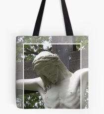 Jesus Hanging on the Cross Tote Bag