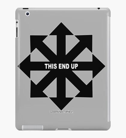 This End Up iPad Case/Skin