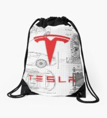 Nikola's Design Drawstring Bag