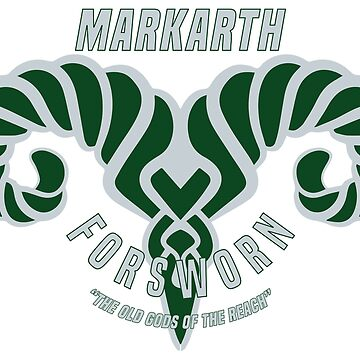 Markarth Forsworn Alternate Basketball Logo by botarthedsgnr