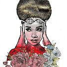 Goddess of Thought by Emjonesdesigns