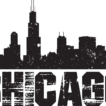 Chicago Skyline Design by botarthedsgnr