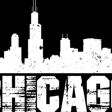 Chicago Skyline Design Inverted by botarthedsgnr