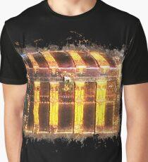 Chest box glowing Art Graphic T-Shirt