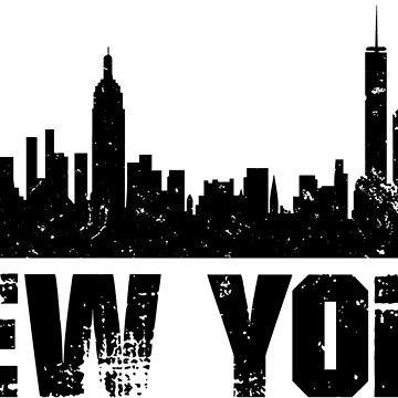 New York Skyline Design by botarthedsgnr
