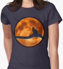 Lost in Cat Space Women's Fitted T-Shirt