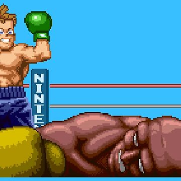 Super Punch-Out / The Champion by MisterPixel