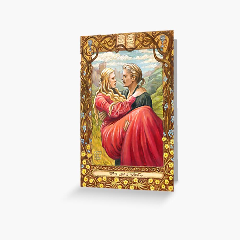 Princess Bride Greeting Card