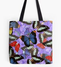 Composition With Echoed Butterflies #4 Tote Bag