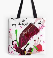 Pop References and my delusions of grandeur Tote Bag