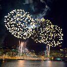 Fireworks, Genoa, Italy by Monica Di Carlo