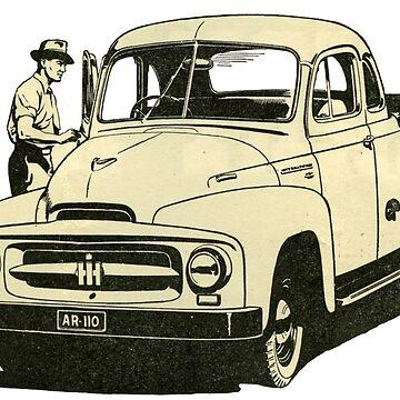 1954 International Ute. Aussie Farmers Favourite!  by taspaul