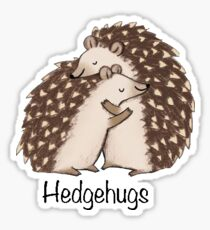 Hedgehugs Sticker