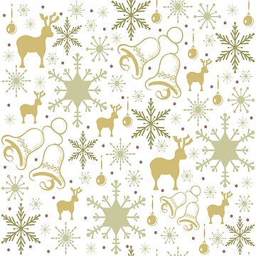 Winter pastel pattern design by SooperYela