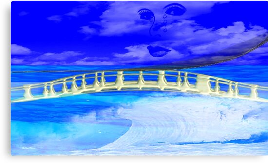 Bridge Over Troubled Water- Art + products Design  by haya1812