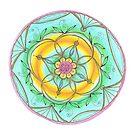 Mandala hangemalt by Sylvia Polis von Sylvia Polis