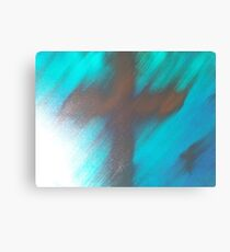 blury faith Canvas Print