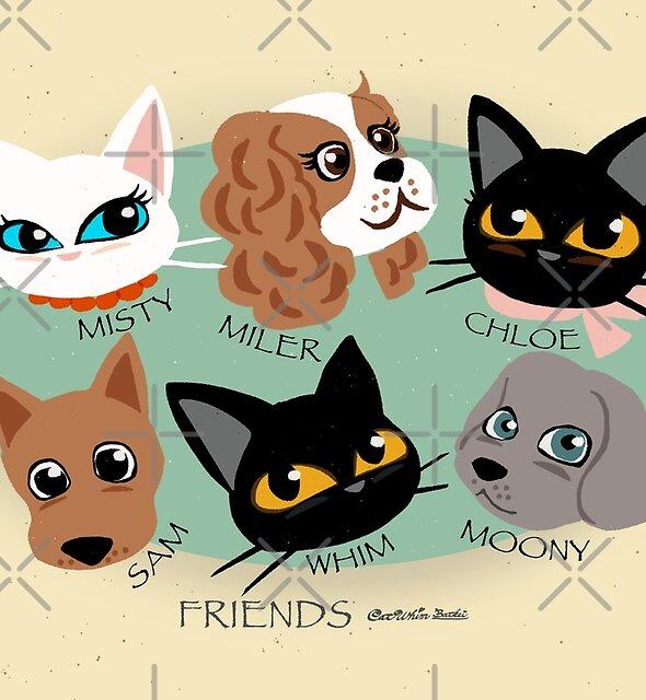 FRIENDS by BATKEI