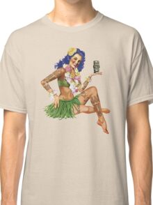Hawaiian Pin-up Classic T-Shirt