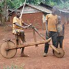 African bike. by Rune Monstad