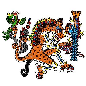 Nahualtepeyollohtli by tecuani122112