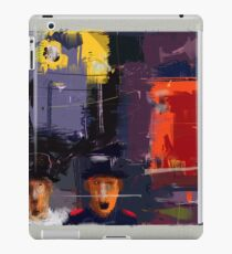 city. changed moods iPad Case/Skin