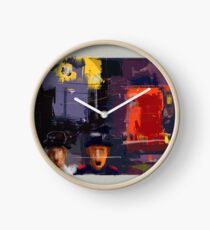 city. changed moods Clock