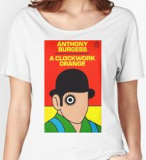 A Clockwork Orange Penguin cover Women's Relaxed Fit T-Shirt