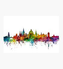 Oxford England Skyline Photographic Print