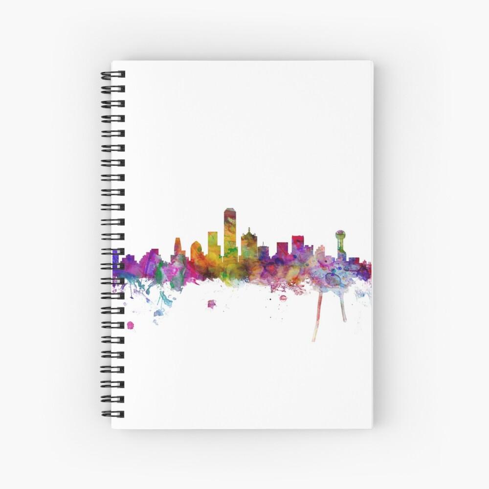 Dallas, Texas, Skyline Cuaderno de espiral